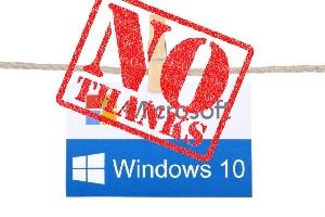 Отклонить обновление Windows