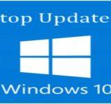 Обновление windows 10 как остановить