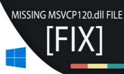 msvcp120 dll - что это за ошибка и как ее исправить