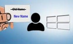 Как изменить имя учетной записи в Windows 10
