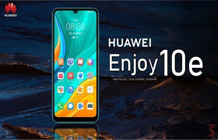 Компания Huawei представила Enjoy 10e: характеристики, цена
