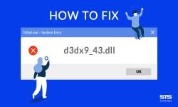 d3dx9_43.dll - что за ошибка и как её исправить