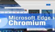 Новый Microsoft Edge на базе Chromium